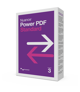 PDF processing(and OCR): Nuance Power PDF Standard 3.0 1PC Windows