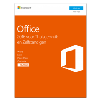 Microsoft Office 2016 Thuisgebruik & Zelfstandigen 1PC Windows