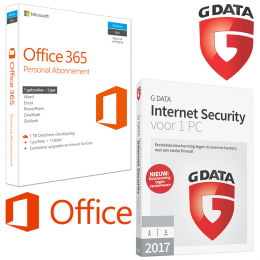 Samen kopen: G-Data Internet Security & Office 365