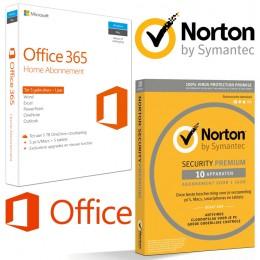 Samen kopen: 5x Office + 10x Norton