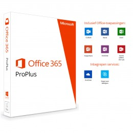 Microsoft Office 365 ProPlus (jaarabonnement)