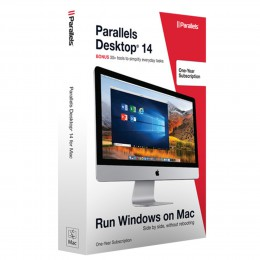 Virtualisation: Parallels Desktop 14 1Mac 1 Jaar