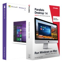 Parallels Desktop 14 1Jaar + Windows 10 Pro Bundel