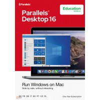 Operating Systems: Parallels Desktop  16 | for Mac | Edu version | 1Year | 1 installation