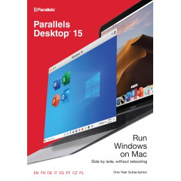 Backup and Repair: Parallels Desktop 15 for Mac 1Year