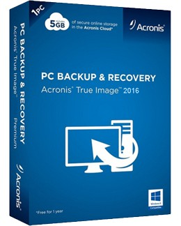 Acronis True Image 2016 1PC/MAC