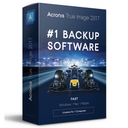 Backup: Acronis True Image 2017 1PC/MAC (2018-upgrade)