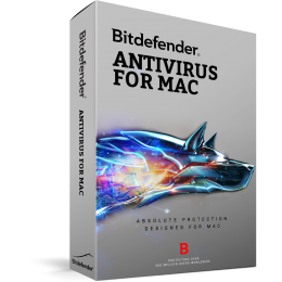 Bitdefender Antivirus for 1MAC 1Jaar