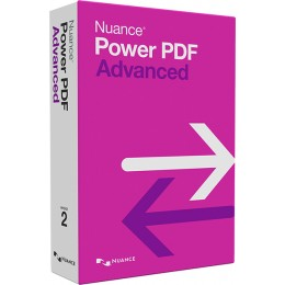 PDF processing(and OCR): Nuance Power PDF Advanced 1PC Windows