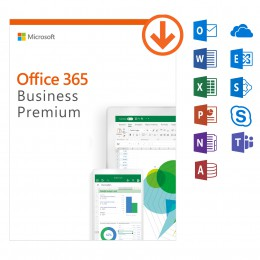 Office: Microsoft Office 365 Business Premium -jaarabonnement - 1Gebruiker - 5Apparaten