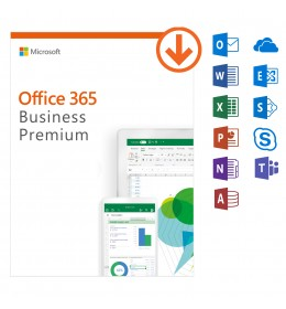 Microsoft Office 365 Business Premium -jaarabonnement - 1Gebruiker - 5Apparaten