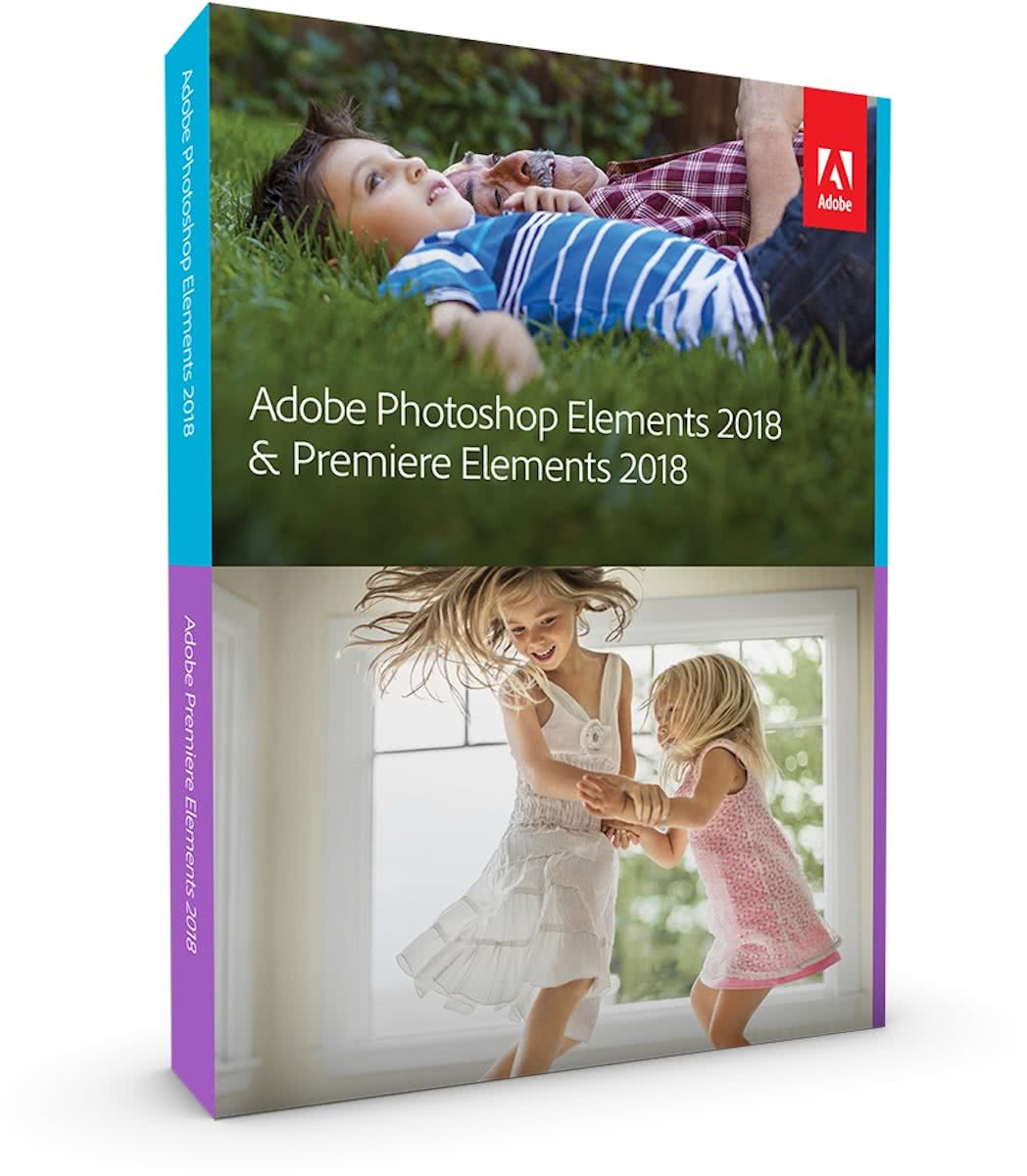 Adobe Adobe Photoshop Elements 2018 + Premiere Elements 2018 PC (Dutch) (65281762)