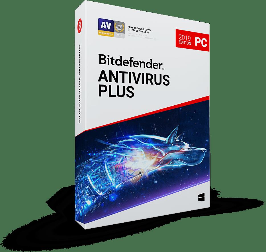 Bitdefender Antivirus Plus 2019 1PC 1year