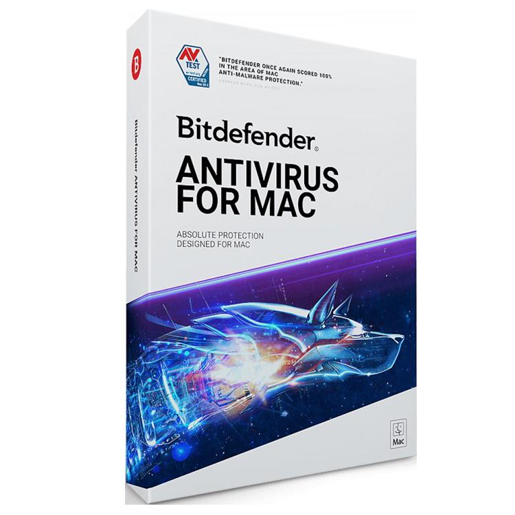 Bitdefender Antivirus for 1MAC 1Jaar