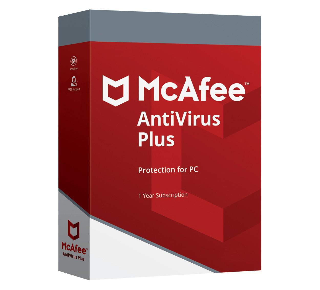 McAfee Antivirus 1PC 1jaar